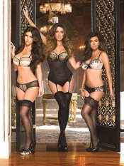 Kim, Khloe, and Kourtney take it off!
